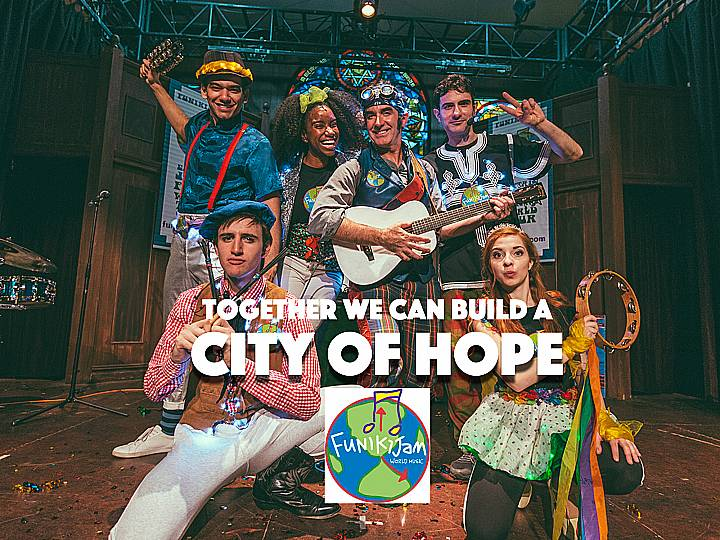 FunikiJamhas created a winter show especially for kids and families that's being played OFF BROADWAY at the Actor's Temple. It's FUN for the entire family and you can save when you use this discount code to purchase tickets to see FunikiJam's City of Hope!