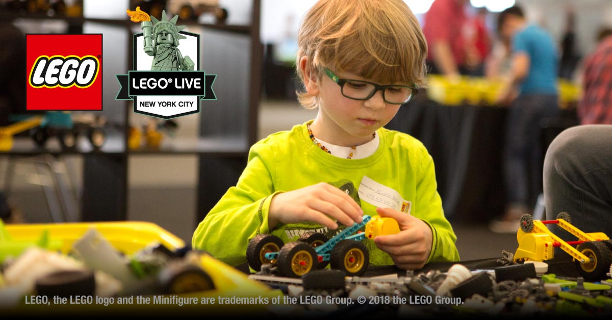 Win tickets to LEGO LIVE NYC