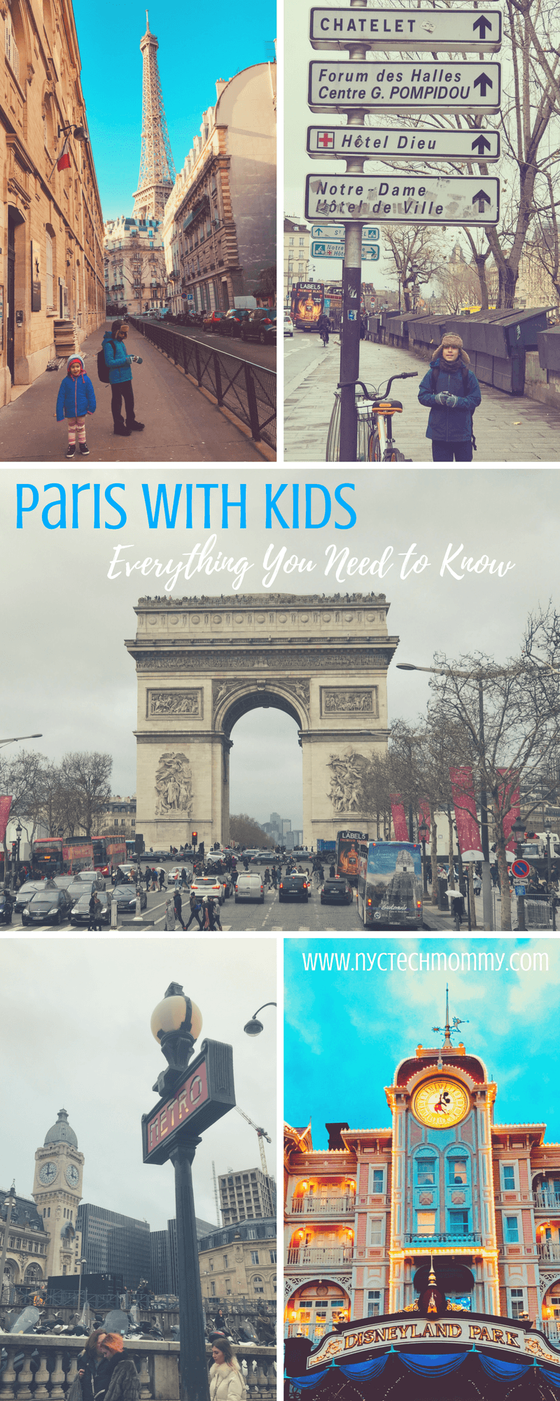 Paris with kids may seem overwhelming but is really doesn't have to be. Here are all the deets you need to go before you go! #Paris #FamilyTravel