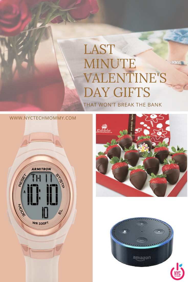 These last minute Valentine's Day gifts won't break the bank and will make just about any loved one happy!
