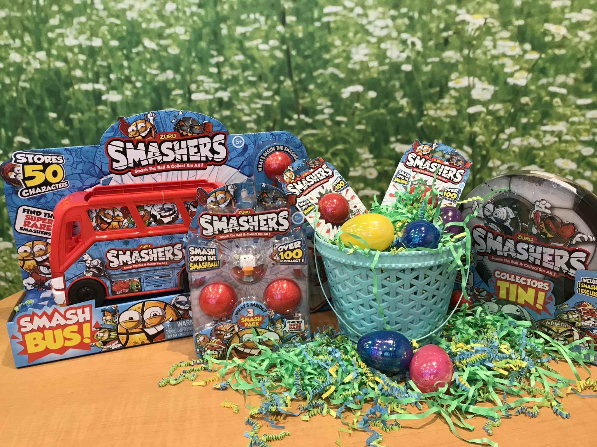 Non candy easter baskets and fun spring gifts kids will love non candy easter basket fillers kids smash open the smashball to reveal a character hidden inside i mean what kid doesnt like to smash things negle Choice Image